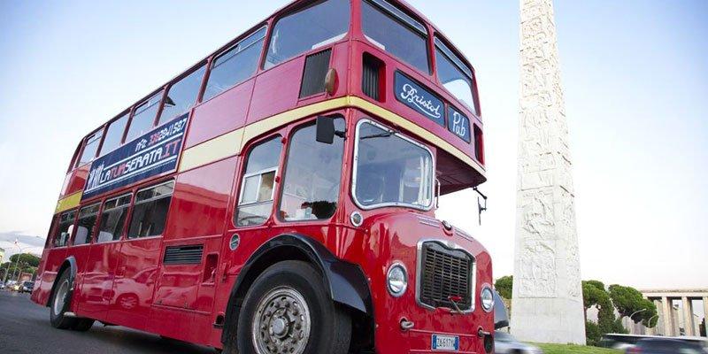 Bus Inglese per Capodanno