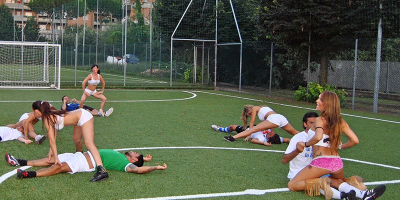 addio al celibato roma sexy soccer