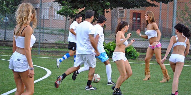ragazze sexy soccer per feste private