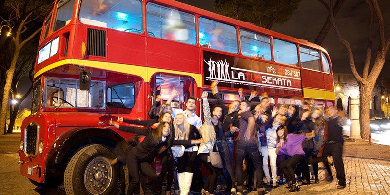 Fashion Bus e Party Bus Roma
