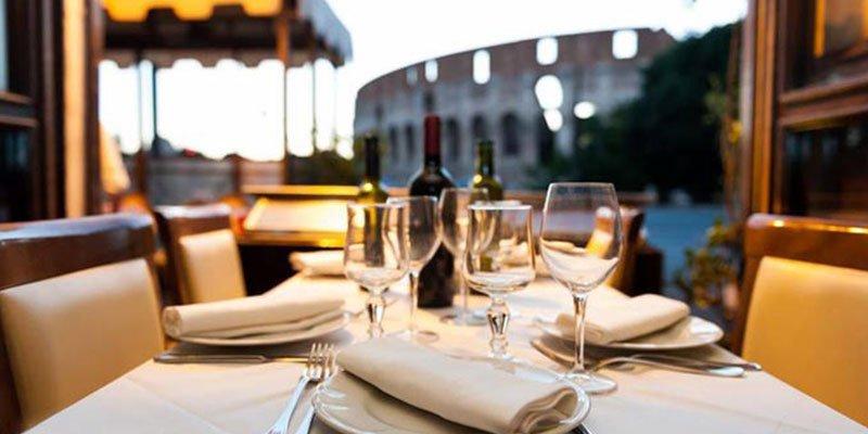 ristorante vista colosseo al gladiatore