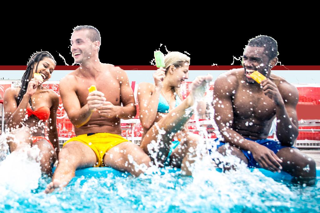 Festa 18 anni in piscina a Roma