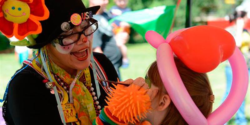 Clown e Mascotte alle Feste per bambini Roma