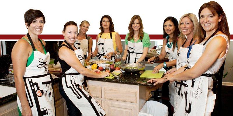 Cooking party per Addio al Nubilato Roma