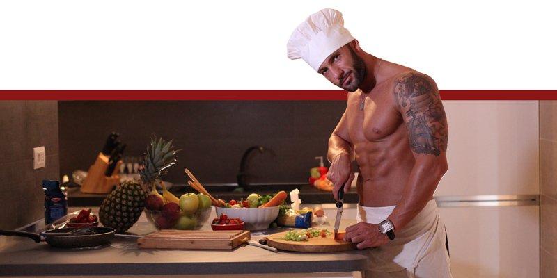 Sexy Cuoco e sexy cameriere per Addio al Nubilato Roma