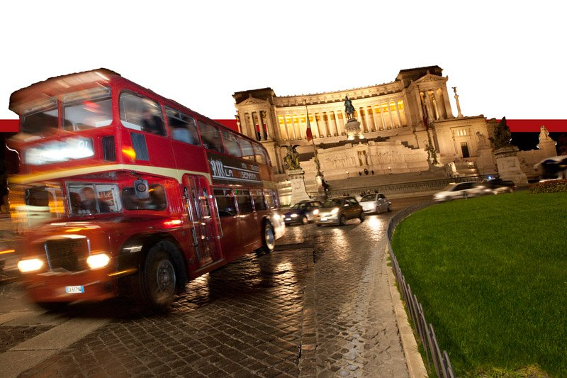 Bus Inglese per party di Addio al Nubilato Roma
