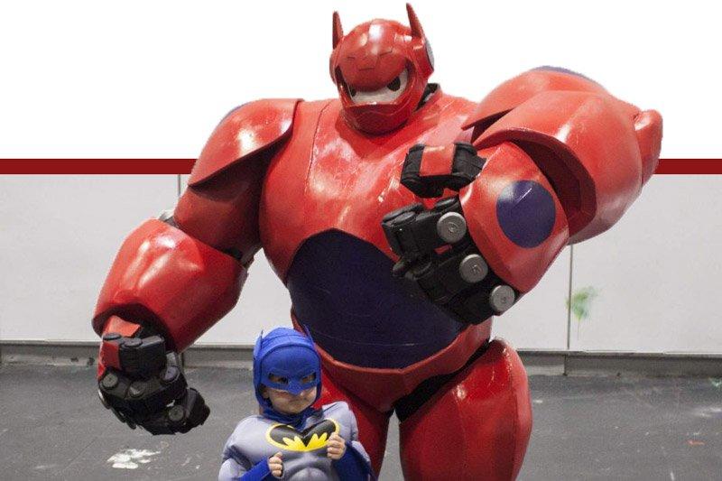 ANIMAZIONE BIG HERO 6