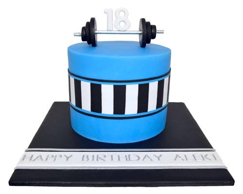 torte 18 anni maschio
