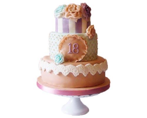 torte di compleanno 18 anni