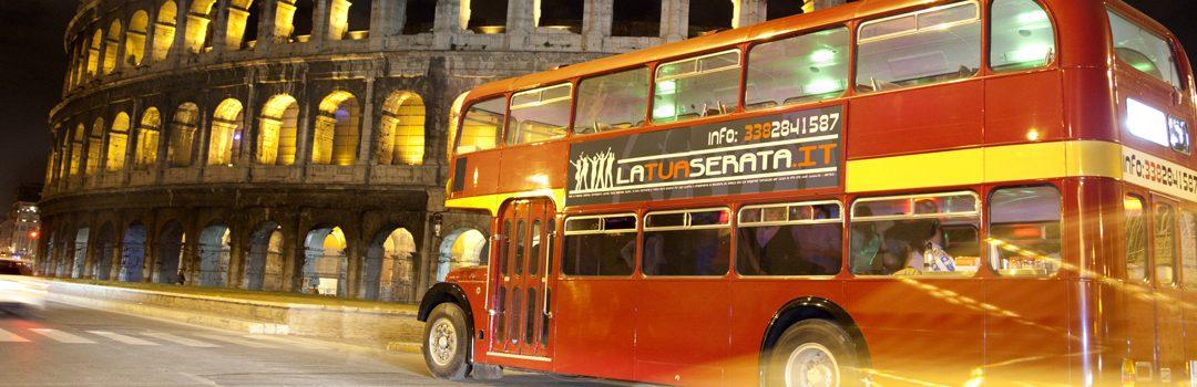 Addio al Celibato sul Bus Inglese a Roma