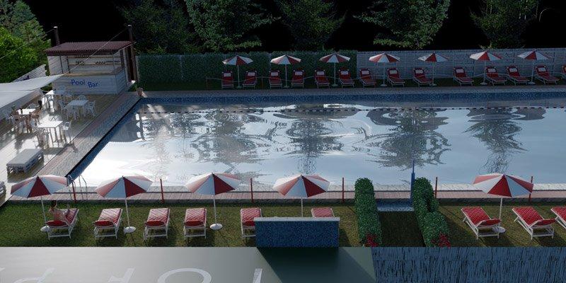 Pool Club per feste de compleanno a Roma