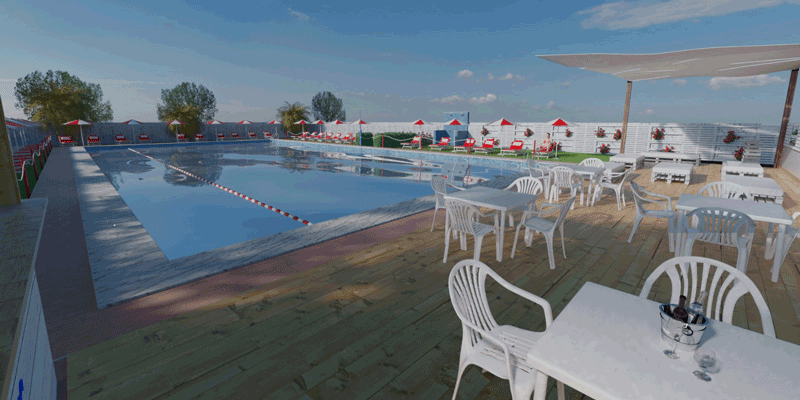 Pool Club per feste private a Roma