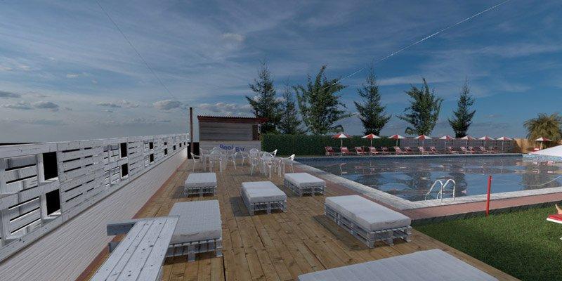 Pool Club per feste a Roma