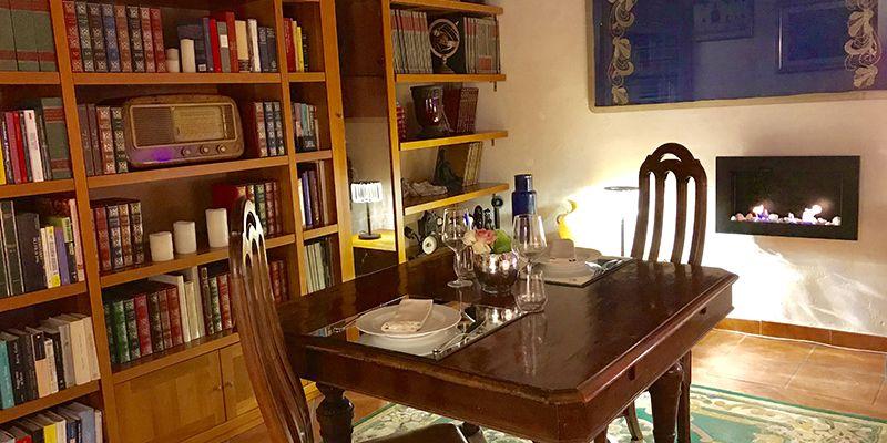 sala libri e sapori scuderie san carlo