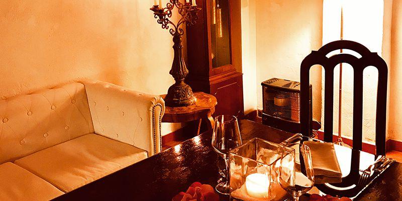 scuderie san carlo roma cena romantica