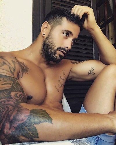 Davide spogliarellista Lazio