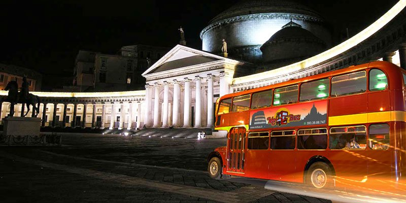 Party Bus per feste di addio al nubilato a Napoli