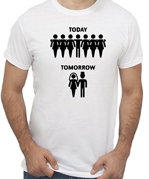magliette addio al celibato