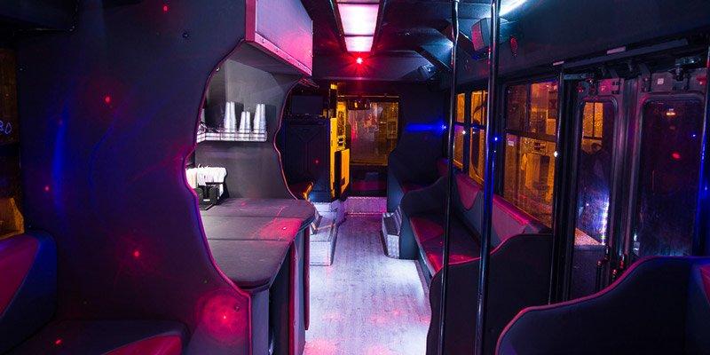 Eventi sul Luxury bus