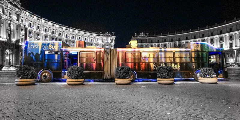 Fashion bus Party bus per feste ed eventi