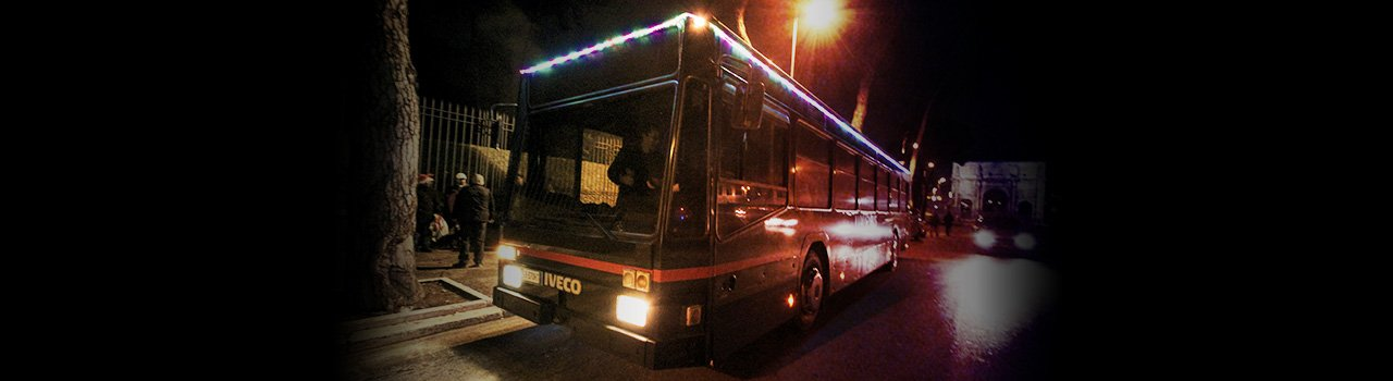 Feste su Luxury bus
