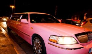 Lincoln Pink Limousine