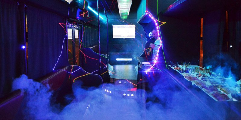 Luxury bus Lazio