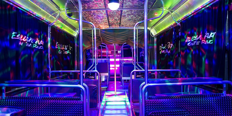 Party sul fashion bus