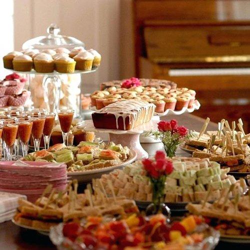 Buffet per feste di compleanno