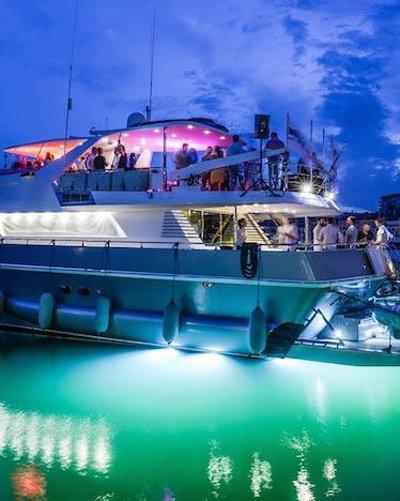 Barche e yacht per feste di compleanno