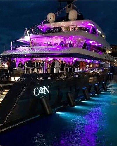 Feste 18 anni in yacht