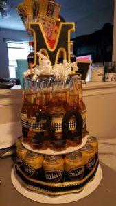 torte addio al celibato alcoliche