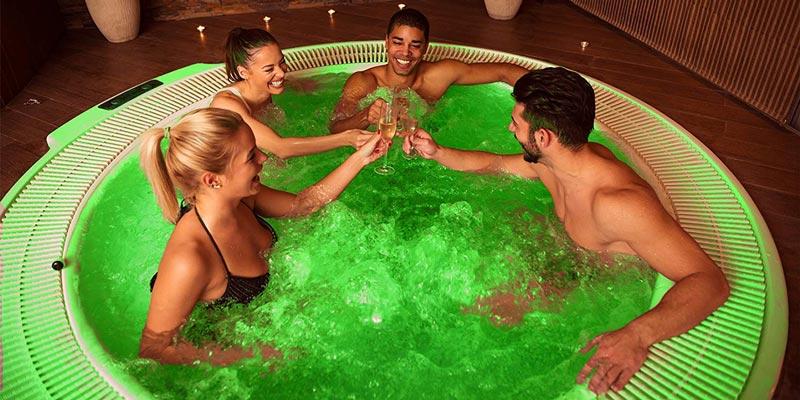 festa in spa a Roma