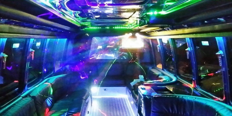 Disco Limo Bus