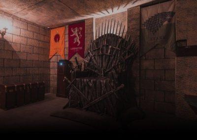 Il trono di spade escape room