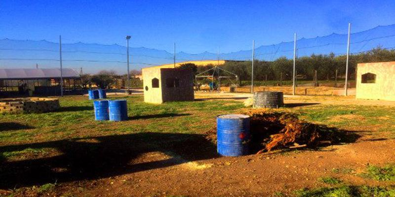 Paintball Roma Sud Ardeatina