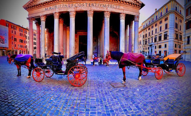 viaggia in carrozza Roma